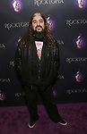 """attending the Broadway Opening Night Performance of  """"Rocktopia"""" at The Broadway Theatre on March 27, 2018 in New York City."""