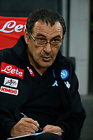 Maurizio Sarri  during the  italian serie a soccer match,between Inter FC  and SSC Napoli      at  the San Siro   stadium in Milan  Italy , April  30, 2017