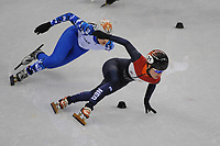 OLYMPIC GAMES: PYEONGCHANG: 10-02-2018, Gangneung Ice Arena, Short Track, Heats 500m Ladies, Yara van Kerkhof (NED), ©photo Martin de Jong