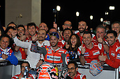 18th March 2018, Losail International Circuit, Lusail, Qatar; Qatar Motorcycle Grand Prix, Sunday race day; Andrea Dovizioso (Ducati)
