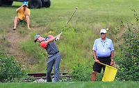Rory MCILROY (NIR) tees off the 9th tee during Thursday's Round 1 of the 2014 PGA Championship held at the Valhalla Club, Louisville, Kentucky.: Picture Eoin Clarke, www.golffile.ie: 7th August 2014
