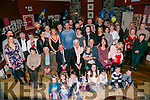 TJ Culloty from Currovagh, celebrating his 80th birthday with friends and family on Saturday night at O'Donnells, Mounthawk