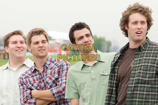 NATE TORRENCE, MIKE VOGEL, JAY BARUCHEL & T.J. MILLER.in She's Out of My League .*Filmstill - Editorial Use Only*.CAP/FB.Supplied by Capital Pictures.