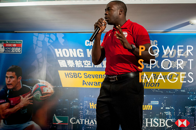 Celabration party at the end of the Cathay Pacific / HSBC Hong Kong Sevens at the Marco Polo Hotel on 30 March 2014 in Hong Kong, China. Photo by Juan Flor / Power Sport Images