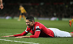 Chris Smalling of Manchester United - FA Cup Fourth Round replay - Manchester Utd  vs Cambridge Utd - Old Trafford Stadium  - Manchester - England - 03rd February 2015 - Picture Simon Bellis/Sportimage