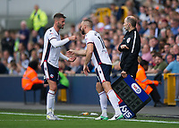 Bolton Wanderers' Gary Madine substituted for Aaron Wilbraham<br /> <br /> Photographer Ashley Western/CameraSport<br /> <br /> The EFL Sky Bet Championship - Millwall v Bolton Wanderers - Saturday August 12th 2017 - The Den - London<br /> <br /> World Copyright &copy; 2017 CameraSport. All rights reserved. 43 Linden Ave. Countesthorpe. Leicester. England. LE8 5PG - Tel: +44 (0) 116 277 4147 - admin@camerasport.com - www.camerasport.com