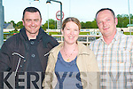 NIGHT AT THE DOGS: Part of the syndicate who own We Can Yes who came 2nd in the Tote Pick Seven Jackpot 325 at the Kingdom Greyhound Stadium on Friday l-r: Mark Fitzgerald, The Hill, Abbeyfeale and Siobhan and Donal Fealey from Listowel.