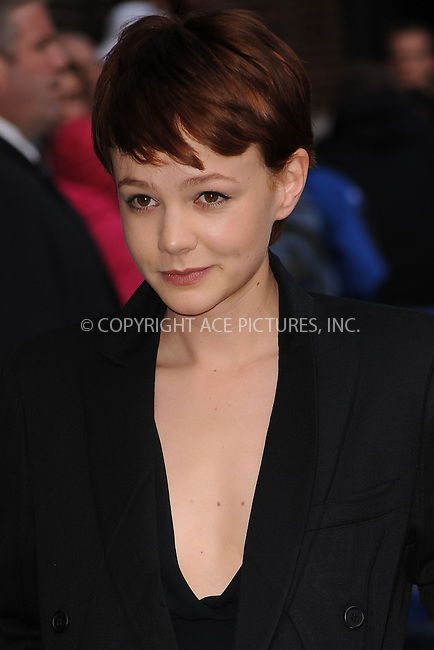 WWW.ACEPIXS.COM . . . . .  ....October 7 2009, New York City....Actress Carey Mulligan made an appearance at the ''Late Show with David Letterman'' at the Ed Sullivan Theater on October 7, 2009 in New York City.....Please byline: KRISTIN CALLAHAN - ACEPIXS.COM.... *** ***..Ace Pictures, Inc:  ..tel: (212) 243 8787..e-mail: info@acepixs.com..web: http://www.acepixs.com