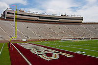 September 03, 2011:   General View of Bobby Bowden Field at Doak S. Cambell Stadium before the start of action between the Florida State Seminoles and the Louisiana Monroe Warhawk.s