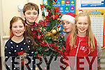 Pictured at the Balloonagh School Christmas Concert on Wednesday 12th December were l-r: Lucy Linnane, Shane Daly, Dean Rusk and Caoimhe Dowling.