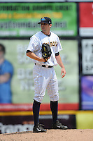 Trenton Thunder pitcher Matt Tracy (59) during game against the New Hampshire Fisher Cats at ARM & HAMMER Park on June 22, 2014 in Trenton, NJ.  New Hampshire defeated Trenton 7-2.  (Tomasso DeRosa/Four Seam Images)