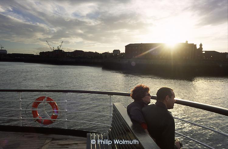 The Mersey Ferry between Liverpool and Birkenhead