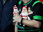A Doncaster fan with some gnomes during the Carabao cup match at the Emirates Stadium, London. Picture date 20th September 2017. Picture credit should read: David Klein/Sportimage