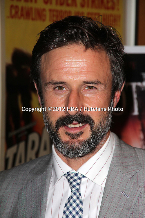 """LOS ANGELES - SEP 28:  David Arquette arrives at the """"Cottage"""" Premiere at Academy of Motion Pictures Arts and Sciences on September 28, 2012 in Beverly Hills, CA"""