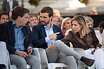 Pablo Casado and Jose Luis Martinez Almeida in the presentation of the Partido Popular program<br />  October 13, 2019. <br /> (ALTERPHOTOS/David Jar)