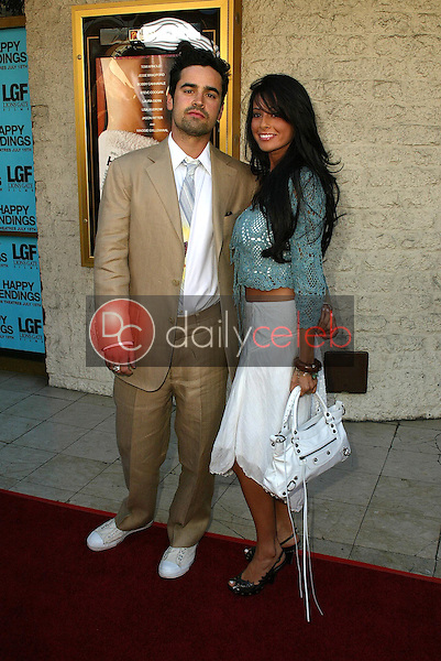Jesse Bradford and date Priscilla<br />
