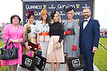 Best Dressed lady finalists at the Listowel Races on Friday Pictured, Mary O'Flaherty, Chic Botique,   Grainne Greville, Tyrone, Elaine Moriarty, Killarney, Pippa Ormond O'Connor (Judge) Mary Houlihan, Listowel and Daithi O Se (Judge)