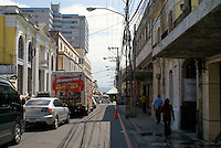 Street in Zona I, downtown Guatemala City, Guatemala