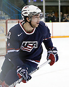 Kyle Palmieri (USA - 23) - Team USA defeated Team Finland 6-2 on Saturday, January 2, 2010, at Credit Union Centre in Saskatoon, Saskatchewan during the 2010 World Juniors quarterfinals.