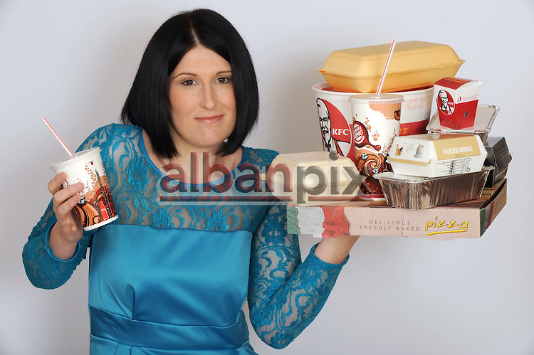 ©Albanpix.com.Pic by Rob Howarth.Holly Francis from Barham, Suffolk who has spent over £25,000 on Take away meals. Holly has now slimmed down to 12 stone after losing 11 stone