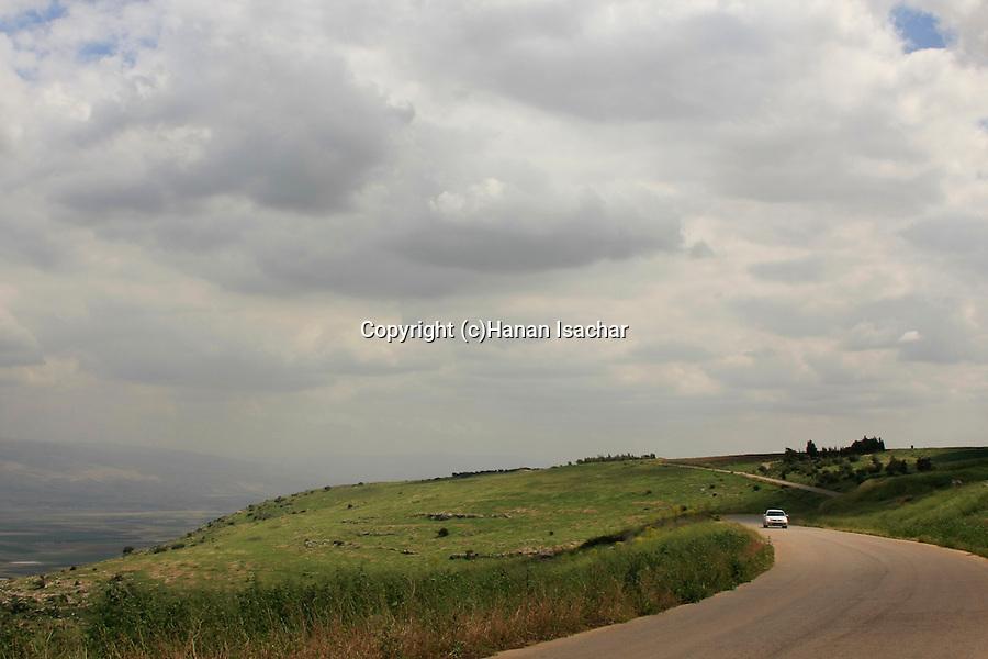 Israel, Mount Gilboa Scenic Road