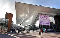 Nederland - Amsterdam - 2019. Het Stedelijk Museum aan het Museumplein. Foto Berlinda van Dam / Hollandse Hoogte.