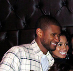 Usher Partying LA 11/07/2009