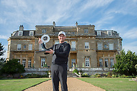 Tom Lewis with the Bridgestone Challenge trophy after he wins during the final round of the  Bridgestone Challenge, Luton Hoo Hotel, Bedfordshire, England. 09/09/2018.<br /> Picture  / Golffile.ie<br /> <br /> All photo usage must carry mandatory copyright credit (&copy; Golffile | )