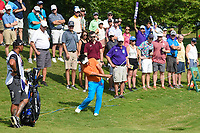 Kodai Ichihara (JPN) chips on to 1 during round 3 of the WGC FedEx St. Jude Invitational, TPC Southwind, Memphis, Tennessee, USA. 7/27/2019.<br /> Picture Ken Murray / Golffile.ie<br /> <br /> All photo usage must carry mandatory copyright credit (© Golffile | Ken Murray)