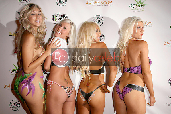 Models<br />at National Lampoon's 'The Great American Fantasy'. Playboy Mansion, Holmby Hills, CA. 09-06-08<br />Dave Edwards/DailyCeleb.com 818-249-4998