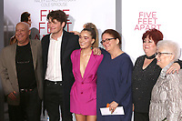 """LOS ANGELES - MAR 7:  Brett Dier, Haley Lu Richardson, Guests at the """"Five Feet Apart"""" Premiere at the Bruin Theater on March 7, 2019 in Westwood, CA"""