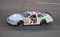May 2, 2008; Richmond, VA, USA; NASCAR Nationwide Series driver Ryan Hackett during the Lipton Tea 250 at the Richmond International Raceway. Mandatory Credit: Mark J. Rebilas-