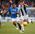 03.11.2018: St Mirren v Rangers: Alfredo Morelos and Alfie Jones