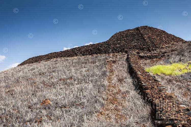 Pu'ukohola Heiau is a national historic site on the Big Island.