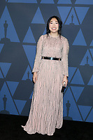 LOS ANGELES - OCT 27:  Awkwafina at the 11th Annual Governors Awards at the Dolby Theater on October 27, 2019 in Los Angeles, CA