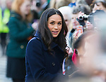 01.12.2017; Nottingham, England: PRINCE HARRY AND MEGHAN MARKLE <br />undertook their first royal engagements together in Nottingham.<br />Together they visited the Nottingham Contemporary which was hosting a Terrence Higgins Trust World AIDS Day charity fair. This was followed by a visit to the Nottingham Academy.<br />Mandatory Photo Credit: &copy;Francis Dias/NEWSPIX INTERNATIONAL<br /><br />IMMEDIATE CONFIRMATION OF USAGE REQUIRED:<br />Newspix International, 31 Chinnery Hill, Bishop's Stortford, ENGLAND CM23 3PS<br />Tel:+441279 324672  ; Fax: +441279656877<br />Mobile:  07775681153<br />e-mail: info@newspixinternational.co.uk<br />Usage Implies Acceptance of Our Terms &amp; Conditions<br />Please refer to usage terms. All Fees Payable To Newspix International