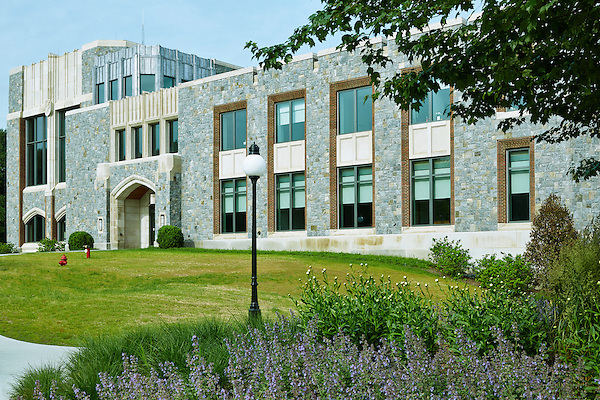 Exterior of Music Department Building at Marist College, Poughkeepsie, NY