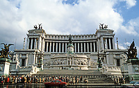 Italy: Rome--Vittorio Emmanuel Monument. Photo '82.