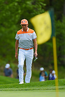 Rickie Fowler (USA) approaches a breezy green on 5 during round 4 of the 2019 PGA Championship, Bethpage Black Golf Course, New York, New York,  USA. 5/19/2019.<br /> Picture: Golffile | Ken Murray<br /> <br /> <br /> All photo usage must carry mandatory copyright credit (© Golffile | Ken Murray)