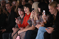 Daisy Lowe<br /> front row at the Marta Jacubowski London Fashion Week SS18 catwalk show, London<br /> <br /> ©Ash Knotek  D3431  14/09/2018