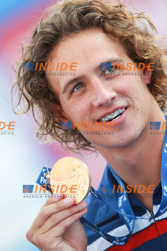 Roma 2nd AUGUST 2009 - 13th Fina World Championships ..From 17th to 2nd August 2009..Men's 400m Individual Medley....Lochte Ryan USA Gold Medal....Roma2009.com/InsideFoto/SeaSee.com