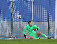 20191023 - Genk: Liverpool's Jakub Ojrzynski is after a goal attempt during the UEFA Youth League group stages match between KRC Genk Youth and Liverpool FC on October 23, 2019 at KRC Genk Stadium Arena B, Genk, Belgium. PHOTO:  SPORTPIX.BE | SEVIL OKTEM