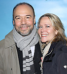 Danny Burstein and Rebecca Luker attend the Broadway Opening Night performance for 'Significant Other' at the Booth Theatre on March 2, 2017 in New York City.
