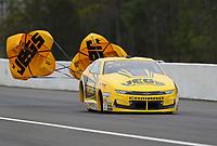 Mar 17, 2019; Gainesville, FL, USA; NHRA pro stock driver Jeg Coughlin Jr during the Gatornationals at Gainesville Raceway. Mandatory Credit: Mark J. Rebilas-USA TODAY Sports