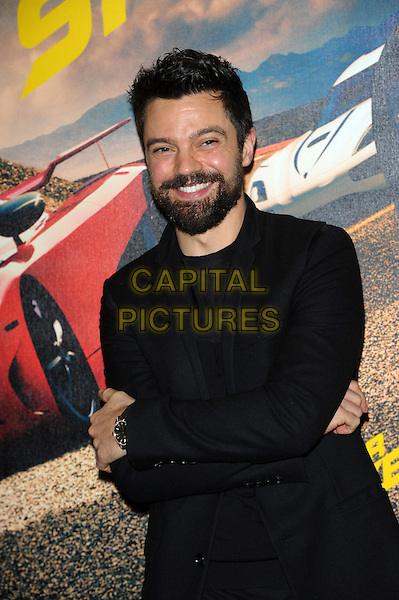 LONDON, UK - FEBRUARY 26 - Dominic Cooper attends a fan screening of their new film, Need For Speed, at the Odeon West End, Leicester Square, London on Wednesday, February 26, 2014. <br /> CAP/CJ<br /> &copy;Chris Joseph/Capital Pictures