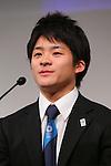 Yuya Kamoto, MARCH 4, 2013 : Yuya Kamoto attends a press conference about presentations of Tokyo 2020 bid Committee at Hotel Okura in Tokyo, Japan. (Photo by AFLO SPORT)