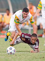MAY 29, 2012 - ST. PETERSBURG, FLORIDA: Tampa Bay Rowdies play the MLS Colorado Rapids in a Lamar Hunt U.S. Open Cup match at Al Lang Field. The Rapids won 3-1. Photo by Matt May/Tampa Bay Rowdies