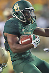 Baylor Bears running back Lache Seastrunk (25) in action during the game between the Wofford Terriers and the Baylor Bears at the Floyd Casey Stadium in Waco, Texas. Baylor leads Woffard 38 to 0 at halftime.