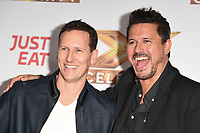 Brendan Cole and Jeremy Edwards<br /> at the photocall of X Factor Celebrity, London<br /> <br /> ©Ash Knotek  D3524 09/10/2019