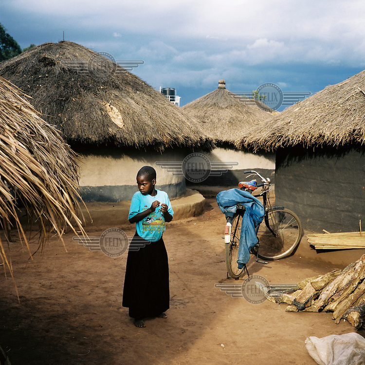 An IDP (internally displaced person) camp in Northern Uganda.